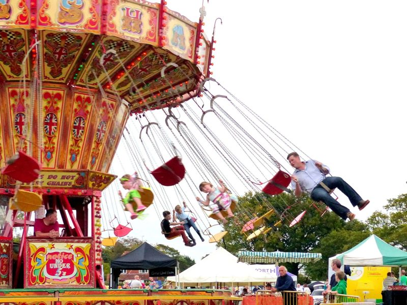Harvest fair amusements